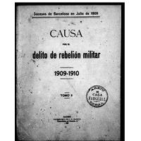 Causa por el delito de rebelión militar (Tomo II)